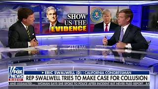 ERIC SWALWELL FULL ONE-ON-ONE INTERVIEW WITH TUCKER CARLSON (5/21/2018)