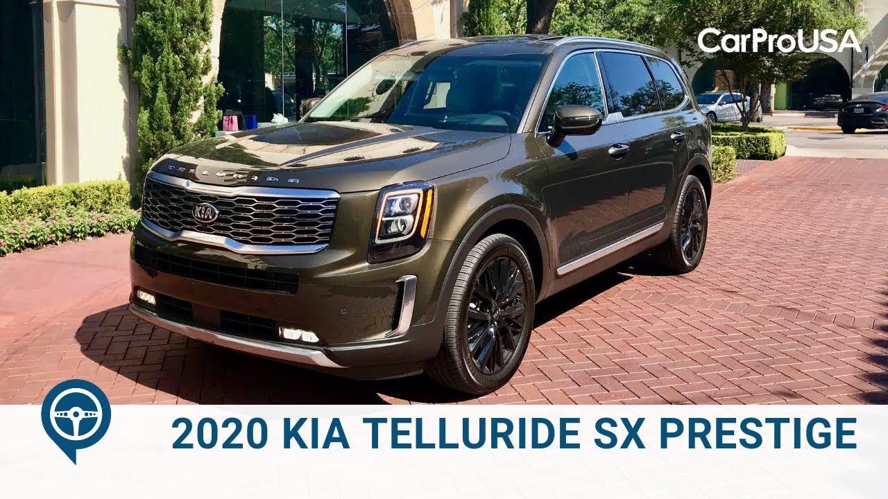 2020 Kia Telluride Sx Prestige Review Youtube