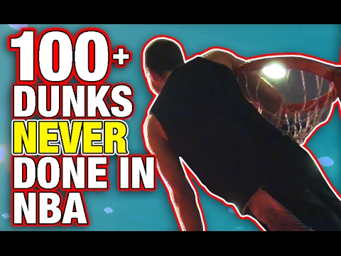 Jordan Kilganon does 100 Dunks Never Done Before in the NBA Dunk Contest