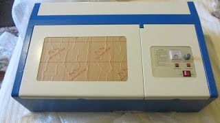 40w K40 Chinese Laser cutter/engraver from eBay - unboxing and testing