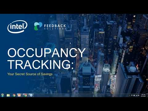 Occupancy Tracking  Your Secret Source of Savings