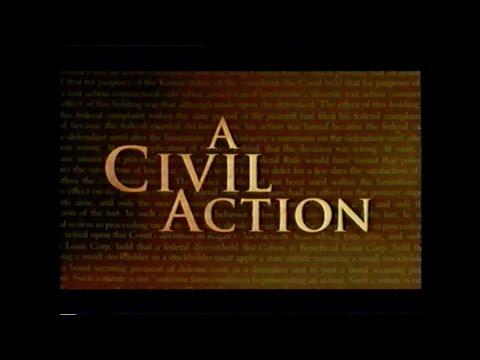 A CIVIL ACTION MOVIE TRAILER [VHS] 1998