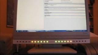 Advanced HDD activity LED VU meter