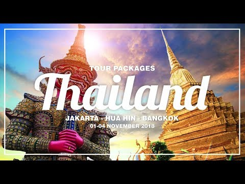 Paket Wisata Bangkok Thailand Tour Packages Enka Tours