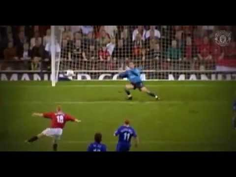 PAUL SCHOLES 10 GOALS AT Old Trafford