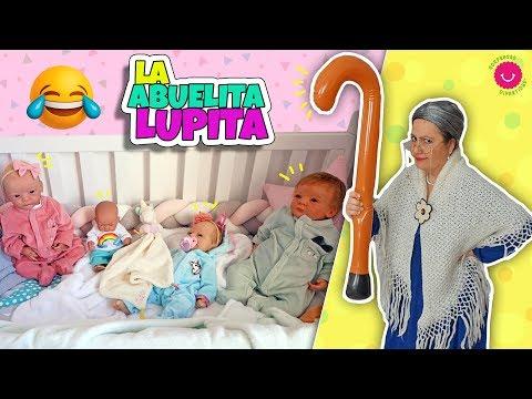 La ABUELITA LUPITA Cuida De Los Bebés Reborn Lindea, Ben, Anuk, Leo Y Neala & Darwin