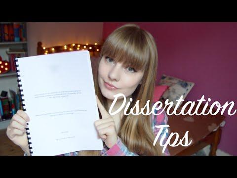 Dissertation Advice