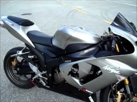 2005 kawasaki ninja zx6r 636 - YouTube