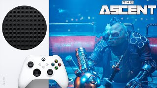 The Ascent Xbox Series S Геймплей 60 FPS