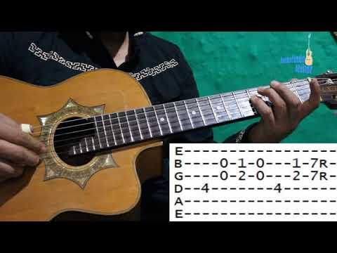 Requinto tutorial Cariñito de mi vida -Dueto las Palomas- Guitarra y requinto