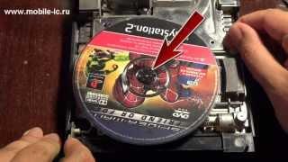 Ремонт PS2 - Замена двигателя(Если игровая приставка перестала читать диски, то одной из возможных неисправностей может быть неисправно..., 2013-05-16T10:59:43.000Z)