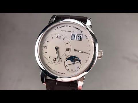 A. Lange \u0026 Sohne Lange 1 Moonphase 109.025 A. Lange \u0026 Sohne Watch Review
