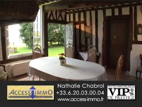 propri t de prestige normandie belle demeure de charme access immo honfleur youtube. Black Bedroom Furniture Sets. Home Design Ideas