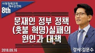 문재인 정부 정책 (촛불 혁명) 실패의 원인과 대책 : 김문수 전 경기 도지사, 정동수 목사, 사랑침례교회