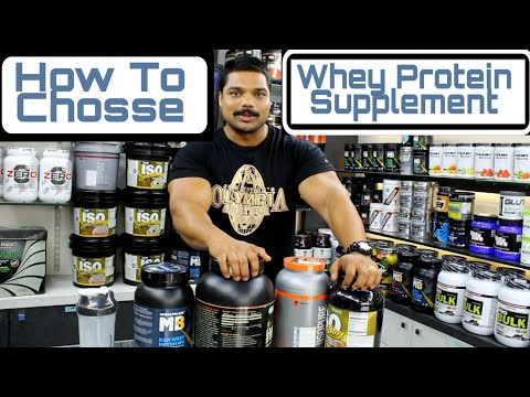 How to Choose Best Whey Protein Supplement For Men/Women ( The Protein Store Pune )
