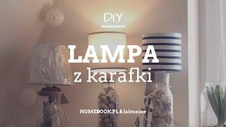 Jak zrobić lampę z karafki? #DIY #LAMPA