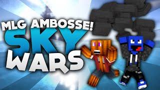 MLG AMBOSS BOOST! - Minecraft Sky Wars! | DieBuddiesZocken