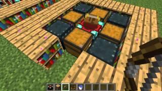 Tutorial Minecraft, Mesa de encantamientos.