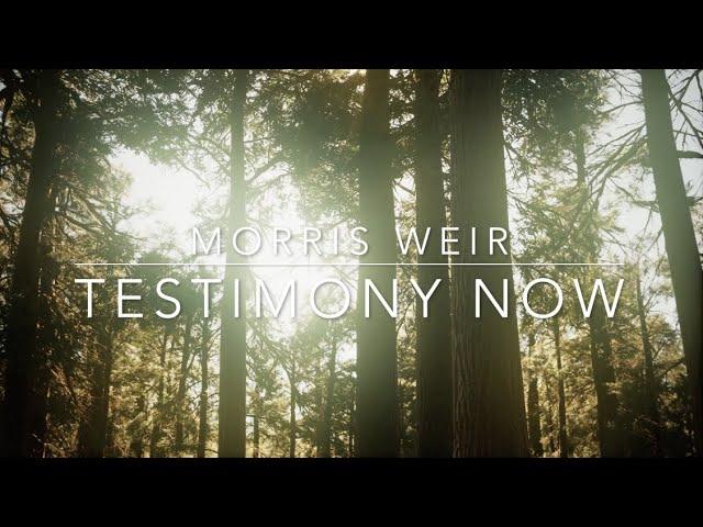 Testimony Now interviews Morris Weir