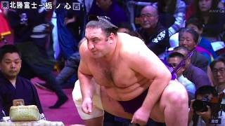November 2018 - Day 5 - Tochinoshin v Hokutofuji