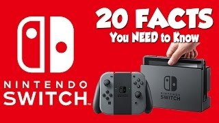 Nintendo Switch - 20 Facts You NEED To Know!