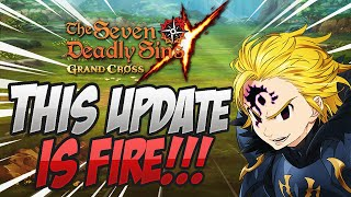 BLUE DEMON MELIODAS IS COMING! FIRE Patch Notes! Seven Deadly Sins Grand Cross
