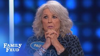 """Steve asks Paula Deen the question: """"Name something people know abo..."""