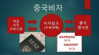 대행업체를 통해 중국비자 받기 - 강화된 비자규정