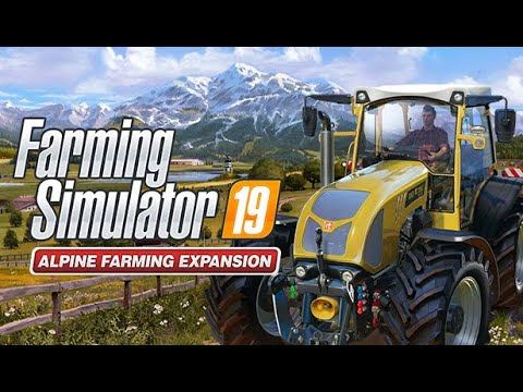 Farming Simulator 19 Alpine Farming Expansion | ERLENGRAT Map | Start New Career | Gameplay | #1 |