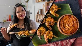 Thai Shrimp Satay | Jen Phanomrat