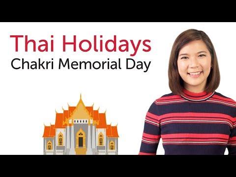 Learn Thai Holidays - Chakri Memorial Day