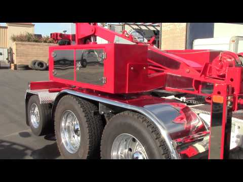 A&T Road Service Adds 2014 KW To Tow Fleet With NRC Quickswap & Tag Axle