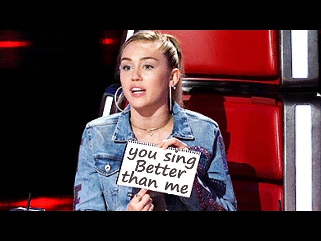 Best Wrecking Ball COVERS on The voice