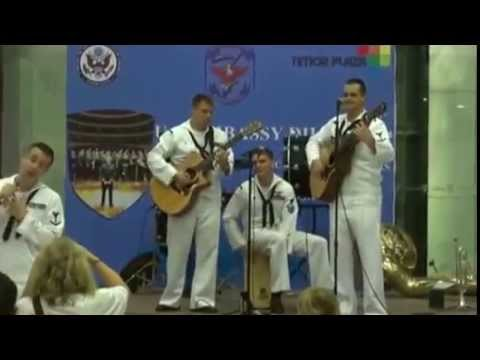 Ama Apa Simu Atina ka Lae (Timorese song performed by the US Navy Rock Band) Travel Video