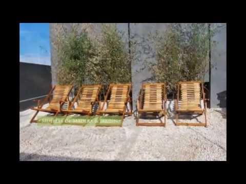 Reposeras de madera muebles de madera y jard n com for Muebles de madera para jardin