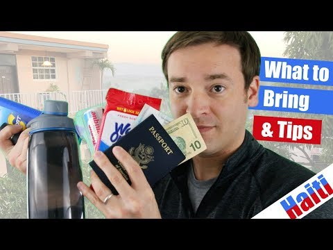 10 Items to Bring to Haiti & Tips | Watch This Before Going to Haiti!