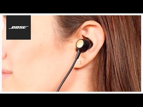 Bose Hearphones - Fitting and Changing Ear Tips
