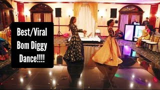 Best Bom Diggy Bride and Sister Engagement Dance | Indian Wedding