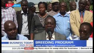 Accelerated dairy breeding program launched in Vihiga County