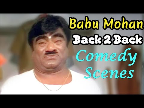 Babu Mohan Back 2 Back Comedy Scenes - Telugu Comedy Scenes