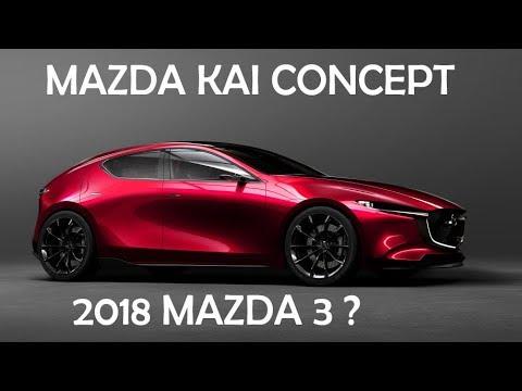WOW Mazda Kai Concept Preview In Tokyo Motor Show Mazda - Tokyo car show 2018