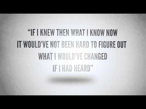 "MercyMe ""Dear Younger Me"" Story Behind The Song"