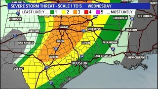 Houston weather: When to expect storms in southeast Texas
