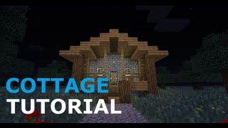 minecraft cozy cottage tutorial