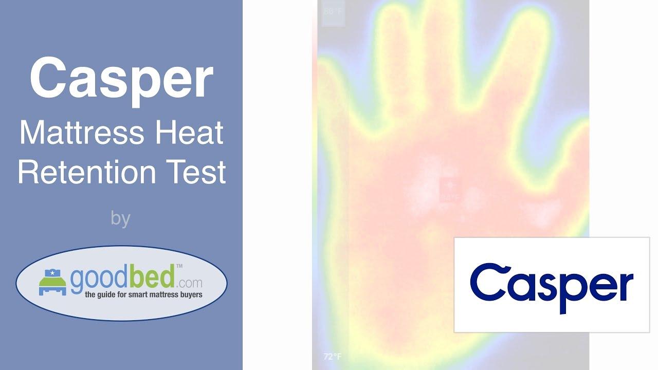 Casper Mattress - Heat Retention Test by GoodBed com