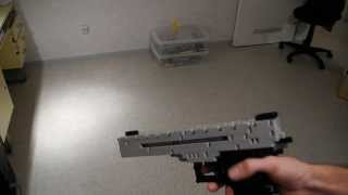 Lego gun pistol (working)