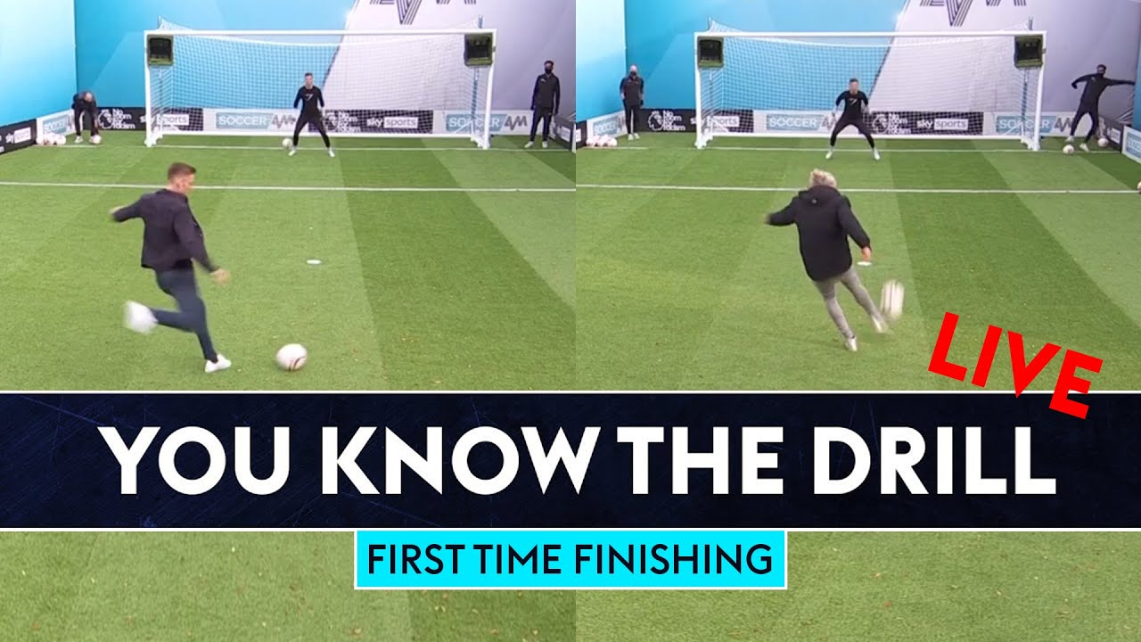 Andy King vs Jimmy Bullard | First Time Finishing | You Know The Drill LIVE!
