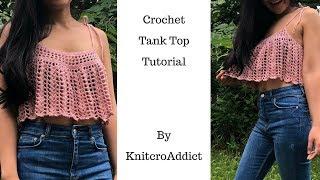 How to crochet tank top