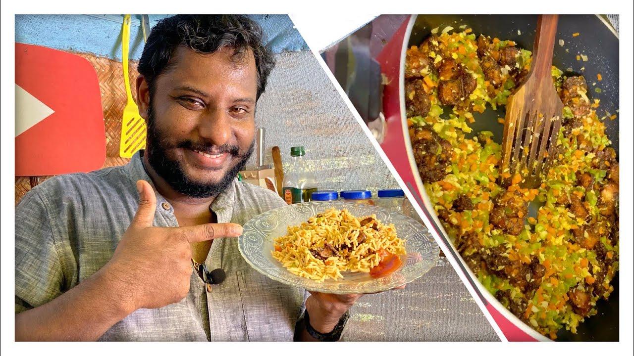 65ൽ മുക്കിപ്പൊരിച്ച ഫ്രൈഡ് റൈസ്..// Chicken 65 Fried Rice//Kerala Food Vlogger//Master Chef.