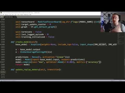 Reinforcement Learning Agent - Self-driving cars with Carla and Python p.4 thumbnail